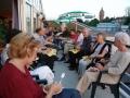 Een heerlijke zomeravond op het RIC terras