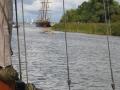 RIC 2 vaart het havengat uit